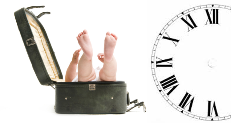 Dealing with Jet Lag and Babies