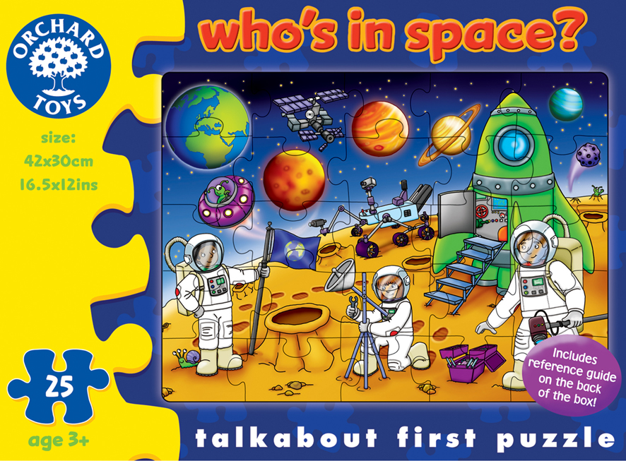 Orchard Toys Who's in Space
