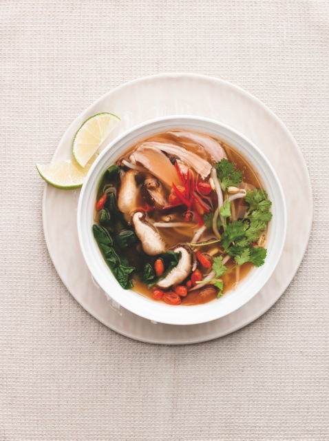 Chicken Ginger Miso Soup