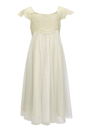 Monsoon's Estella Lace Sparkle Dress