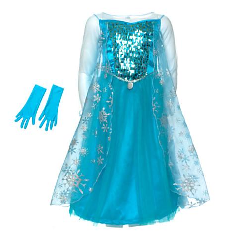 Disney Store's Frozen Elsa Costume Collection