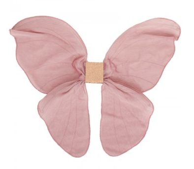 Alex and Alexa's Pink Cloth Fairy Wings