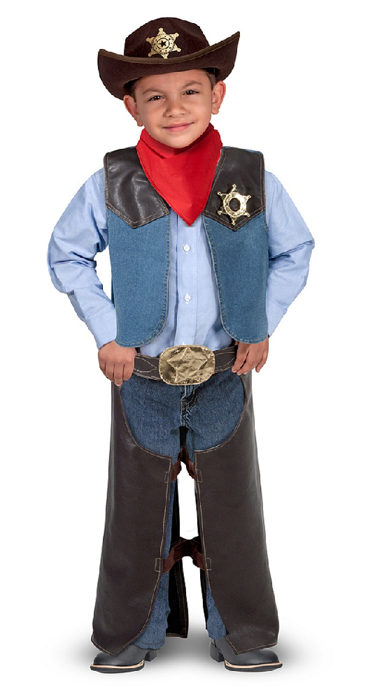 Melissa & Doug's Cowboy Role Play Set