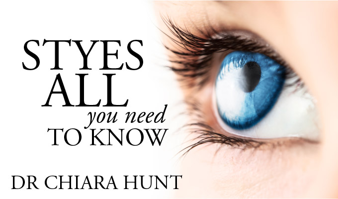 Dr Chiara Hunt: All You Need to Know About Styes