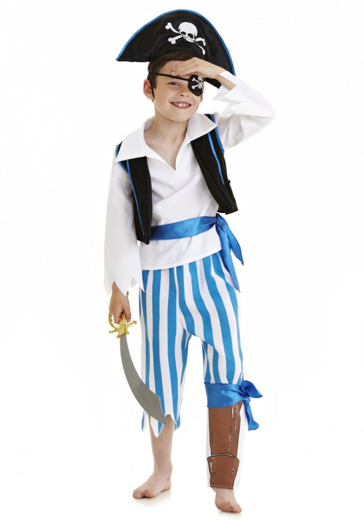 Florence and Fred's Dress Up By Design Peg Leg Pirate Costume
