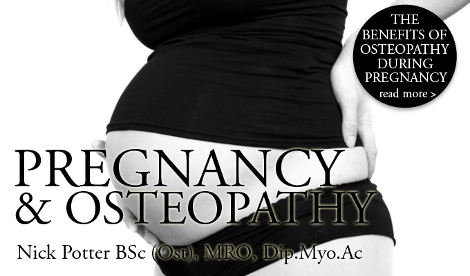 Nick Potter on Pregnancy and Osteopathy