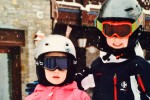 Skiing in Courchevel 1850 with Children