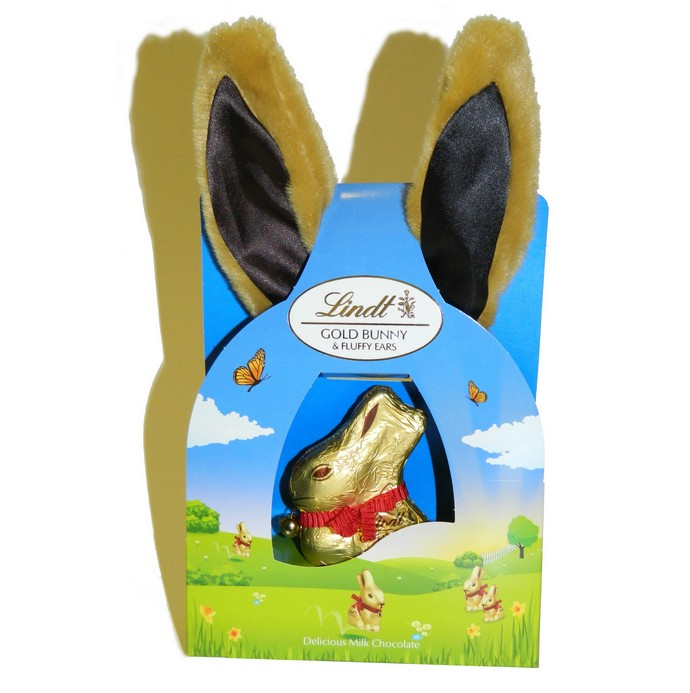 Lindt Gold Bunny and Fluffy Ears