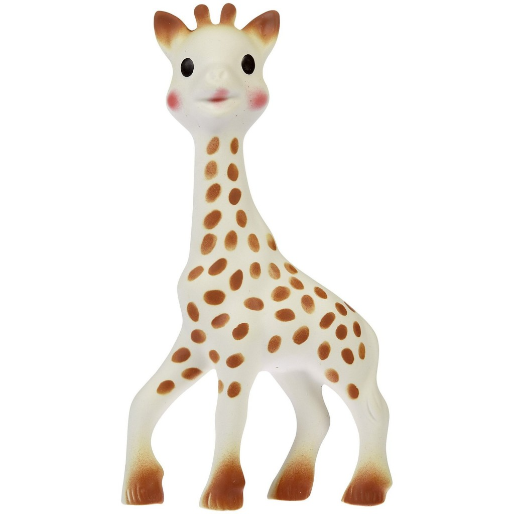 Sophie the Giraffe at Mothercare|