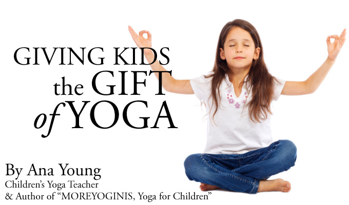 "MoreYoga ""Giving kids the gift of Yoga"""