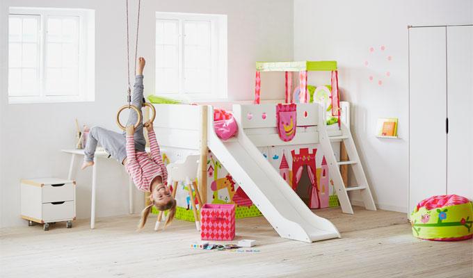 bed slide from flexa my baba. Black Bedroom Furniture Sets. Home Design Ideas