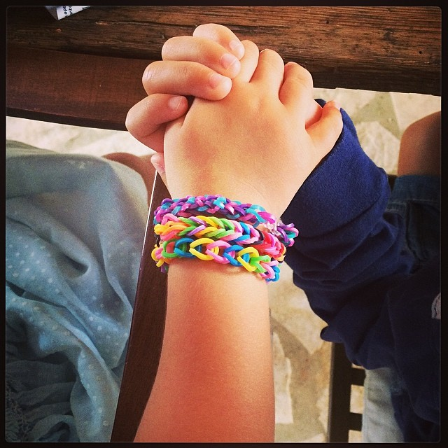 True love, first love. #loom #loombands #loombandz #friendshipbracelets ❤️