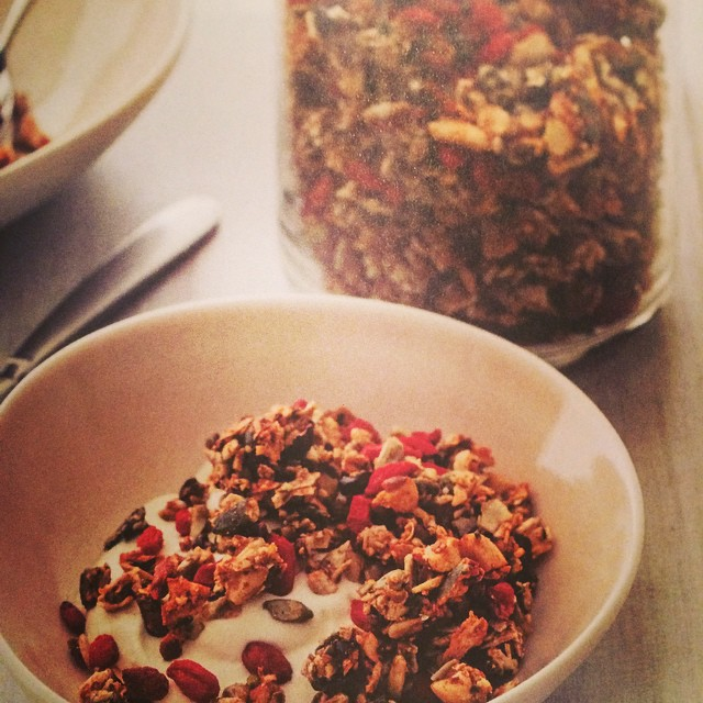 My dear friend @zita.west never ceases to amaze me. Her new book #eatyourselfpregnant is totally brilliant! Full of the most #delicious recipes. Start the day with this #proteinboostseededgranola #zitawest #nourishbooks out on #amazon now