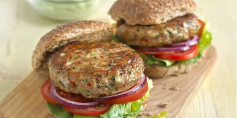 Jane Clarke's Spicy Turkey Burgers