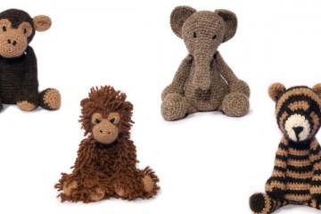 TOFT's Crochet Animal Book