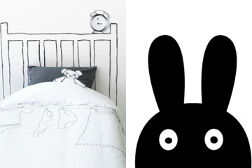 Ursula Wesselingh's How to Decorate a Monochrome Kids' Room