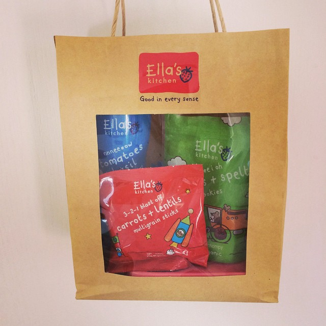 Thank you for the bag of goodies #ellaskitchen loving the new snacks! The #spelt #cookies were finished in seconds! #healthysnacks #healthyseptember
