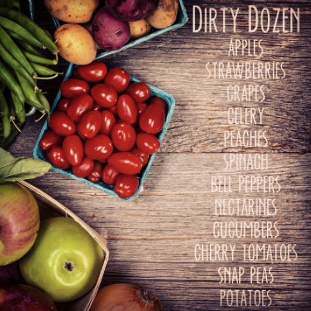 Learn all about #thedirtydozen on #mybaba today. Tamara from @rebel_kitchen AKA #healthwarrior tells us all about those fruits and vegetables most touched by pesticides. #clean15 #healthyseptember