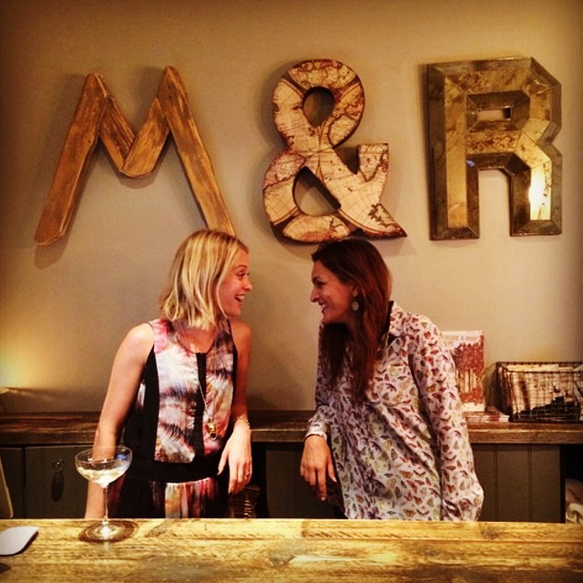 You gorgeous girls are on fire. The newly opened #maggieandrose #kensington is totally amazing. Congrats!!! ⭐️⭐️