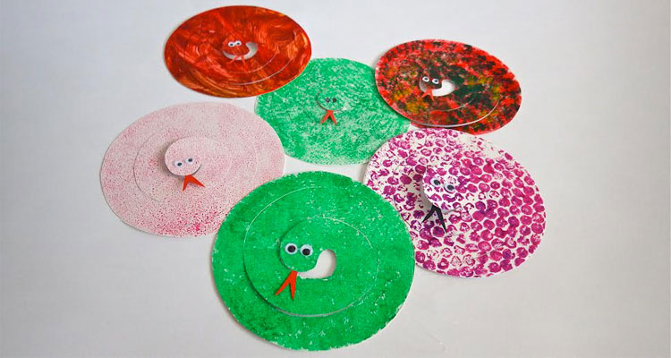 Paper Plate Snakes & Paper Plate Snakes Craft | Nanny Anita | My Baba