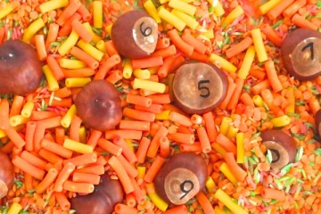 Nanny Anita's Autumnal Sensory and Number Activity