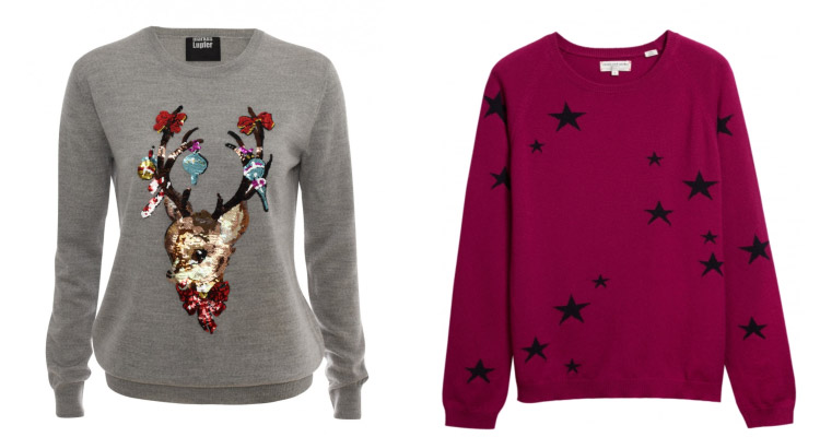 Whether you opt for a festive favourite or something with a subtle sparkle, you'll find the perfect knit in our selection of women's Christmas jumpers.