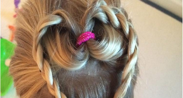 Nanny Anita's Heart Hair