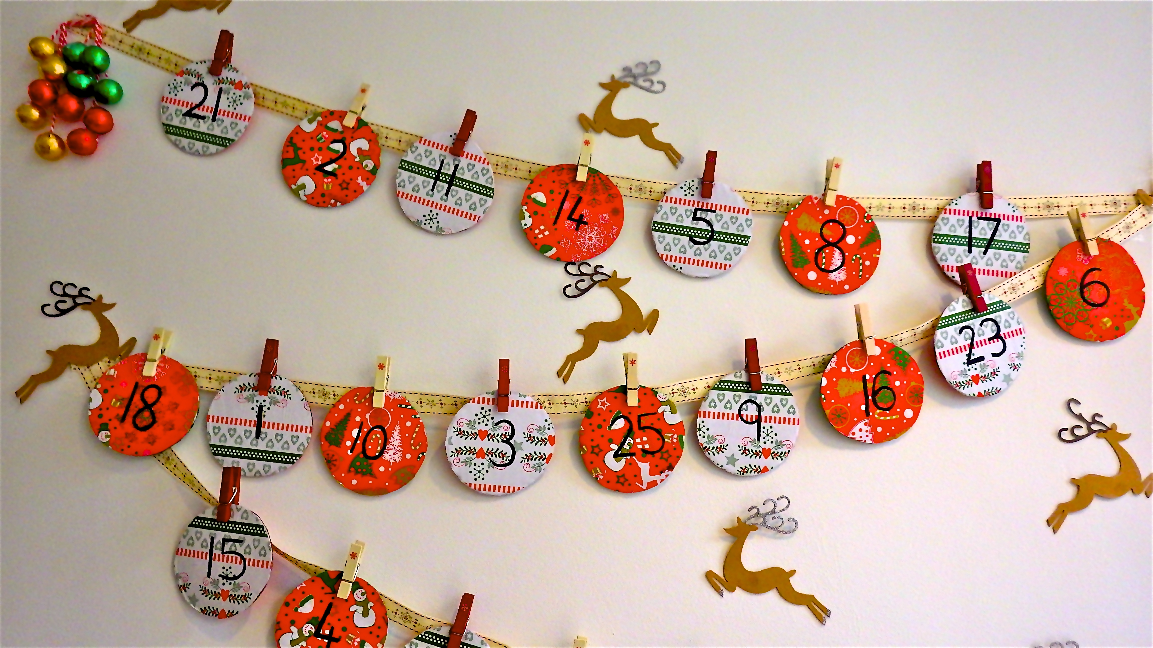 Make Your Own Calendar Art And Craft : Make your own advent calendar my baba