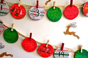 Nanny Anita Make Your Own Advent Calendar