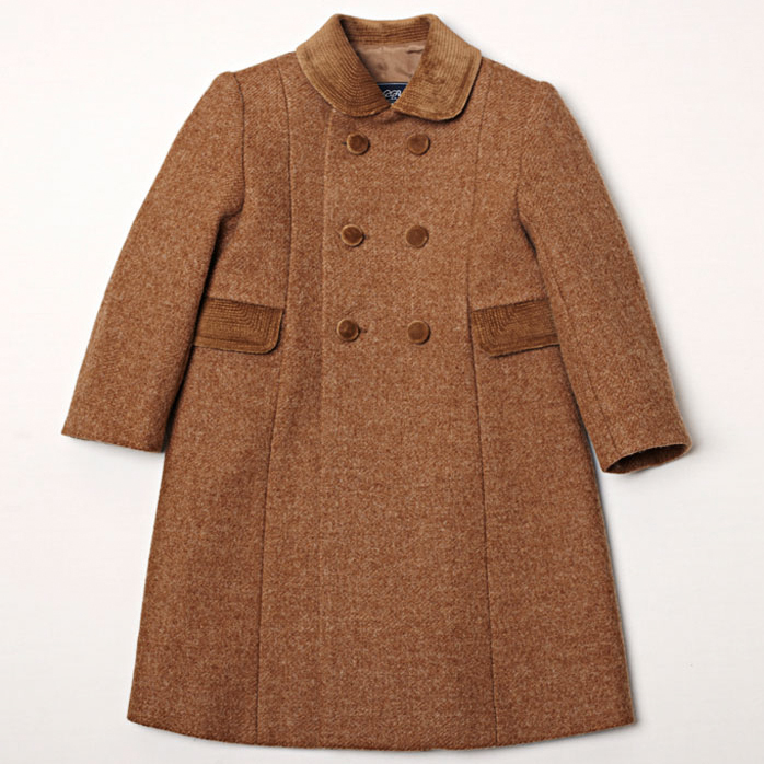 Pepa and Company Double Breasted Coat for Girls
