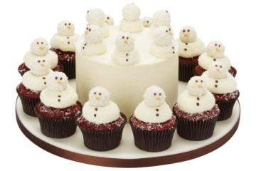 Peggy Porschen's Red Velvet Christmas Cupcakes