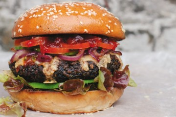 Anna Jones's Really Hungry Burger