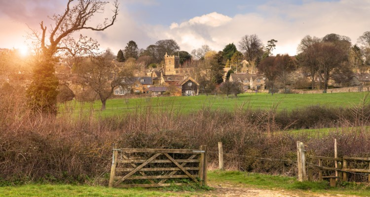 Walking In The Cotswolds With The Kids