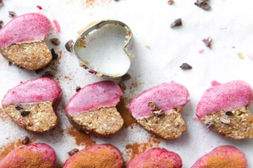 Health Warrior's Ginger Valentine's Cookies