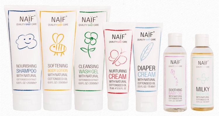 Naif Baby Care Range