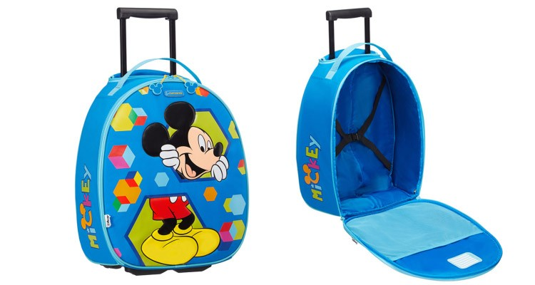 WIN! A Samsonite Disney Wonder Mickey Mouse Suitcase ||My Baba ...