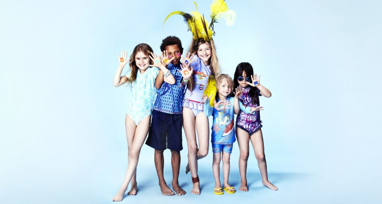 UV Protected Swimwear Pieces for Kids