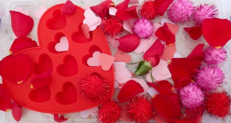 Valentine's Sensory Box