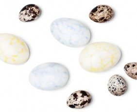 Edible Marbled Eggs for Easter