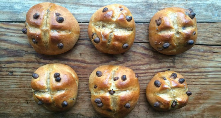 The Food Stork's Hot Cross Buns