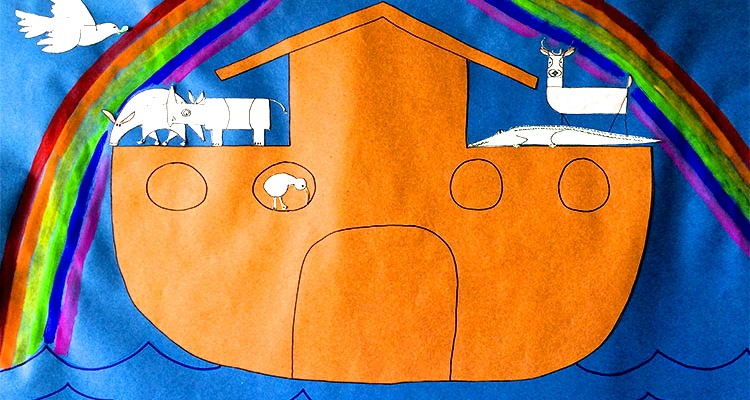 How to Make a Noah's Ark for Easter