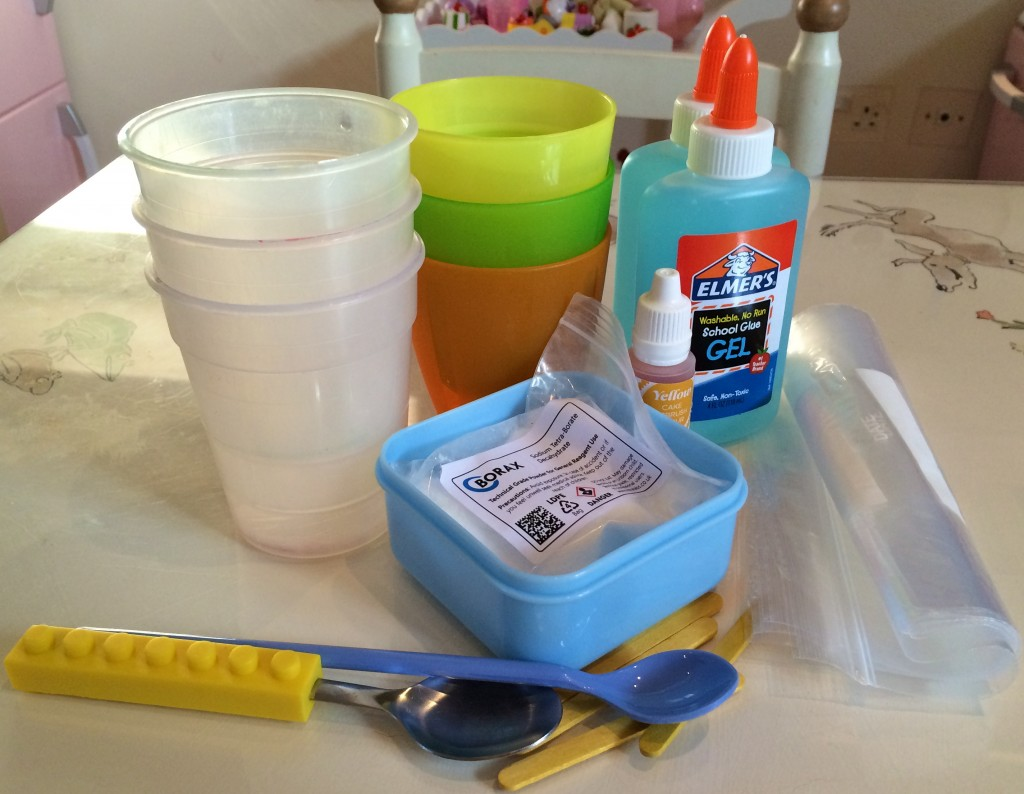 How to make flubber