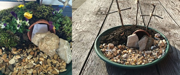 Make an Easter Garden with the Kids
