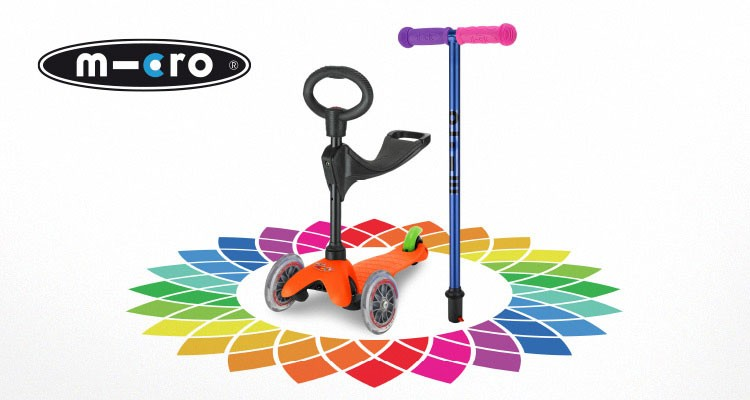 WIN A Create Your Own Micro Scooter