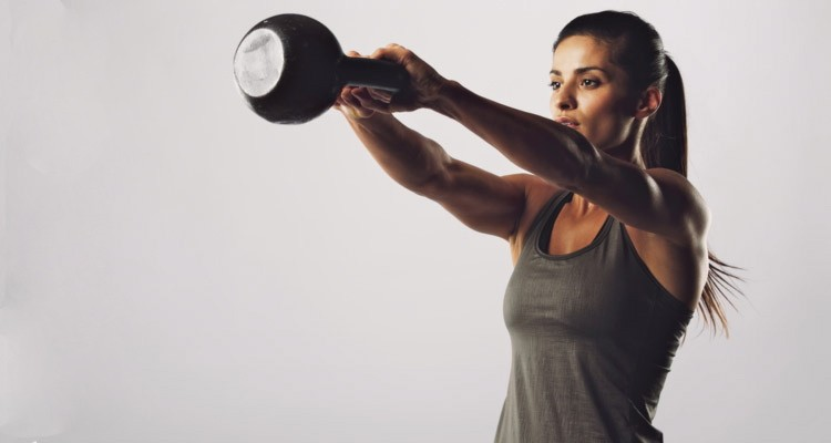 Working Out with Kettle Bells Post Pregnancy