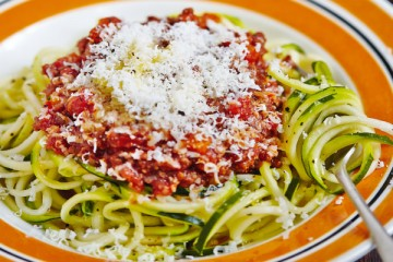 Hemsley and Hemsley's Beef and Ragu Courgetti