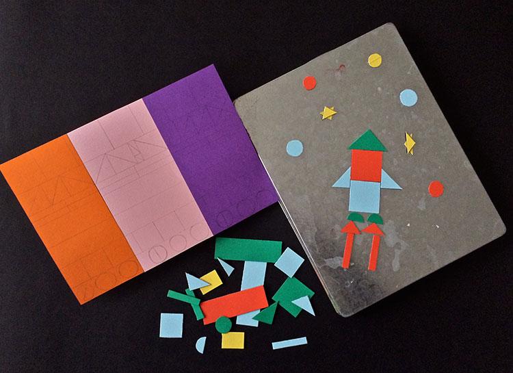 magnetic geometric busy bag