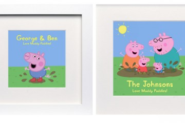 Peppa Pig Personalised Prints