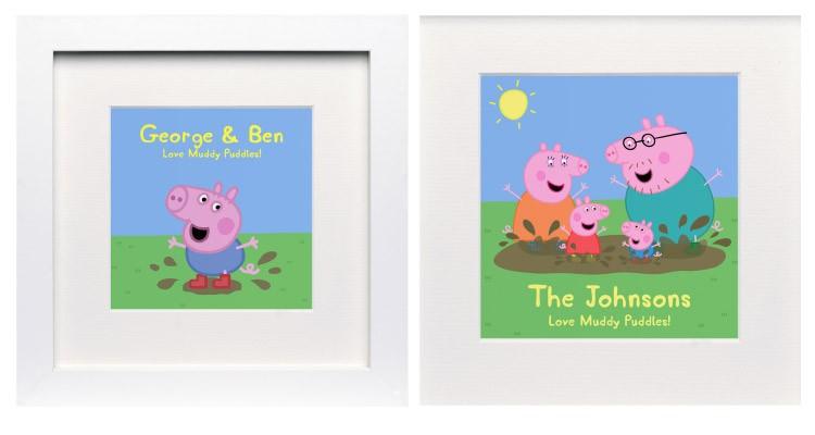 Peppa Pig Personalised Prints