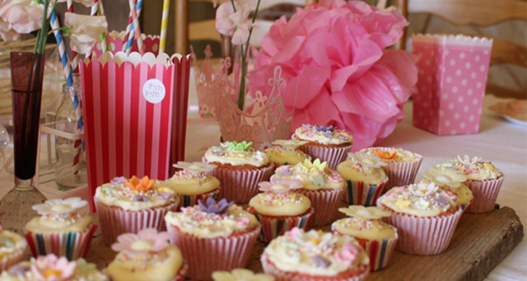 Pretty and Pink Party Food and Princess Palaces